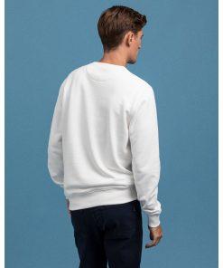 Gant Crest C-Neck Sweater Eggshell