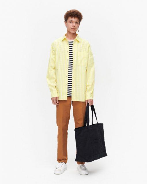 Marimekko Jokapoika Shirt Yellow