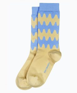 Marimekko Salla Lokki Socks Light Blue