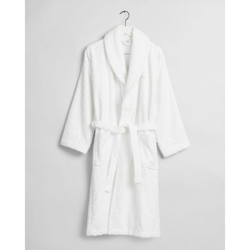 Gant Home Organic G Robe White