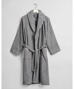 Gant Home Organic G Robe Elephant Grey