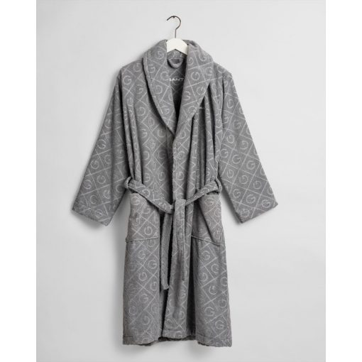 Gant Home Organic G Robe Elephant Grey