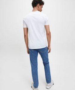 Calvin Klein Jeans Pocket Tee White