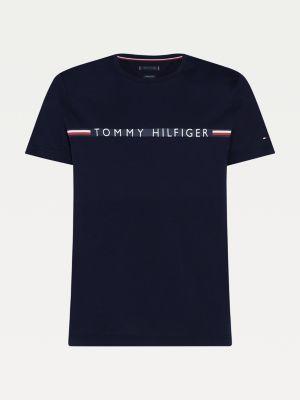 Tommy Hilfiger Mini Stripe Tee Desert Sky
