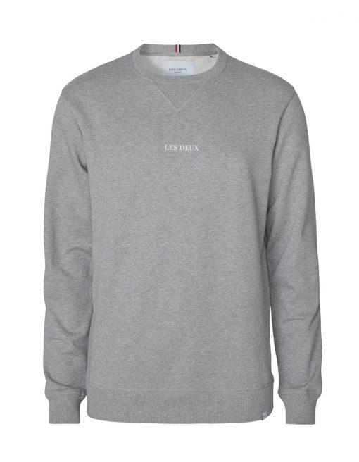 Les Deux Lens Sweatshirt Light Grey Melange