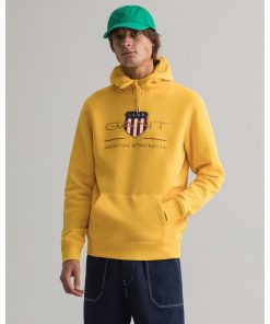 Gant Archive Shield Hoodie Solar Power