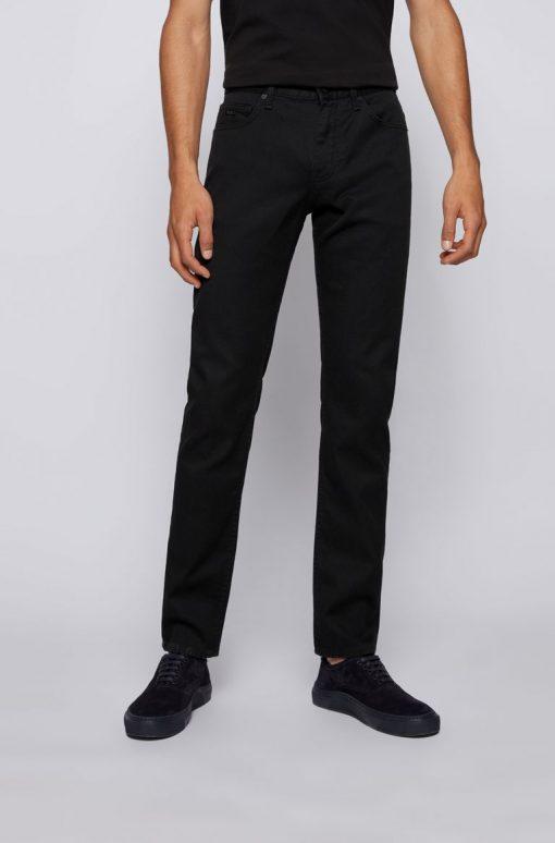Hugo Boss Delaware Jeans Black Musta