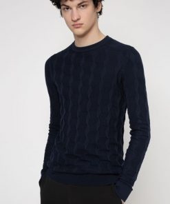 Hugo Boss Sweawer Knit Dark Blue