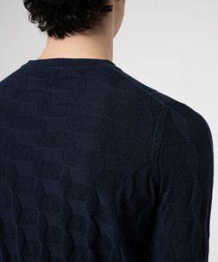 Hugo Boss Sweawer Knit Dark Blue