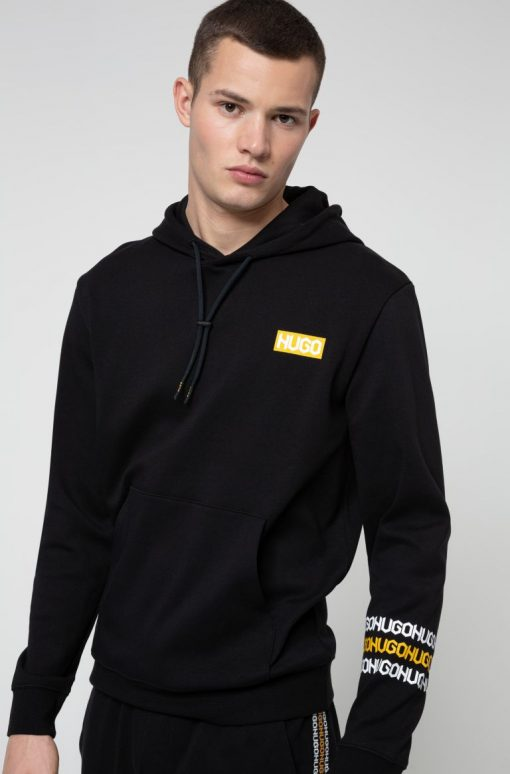 Hugo Boss Dozzi Hooded Sweatshirt Black