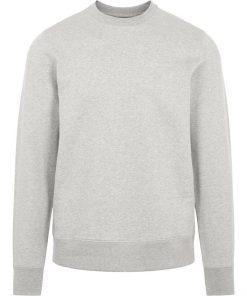 J.Lindeberg Throw Crew Neck Sweater Light Grey