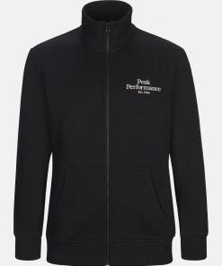 Original Zip Jacket Men Black