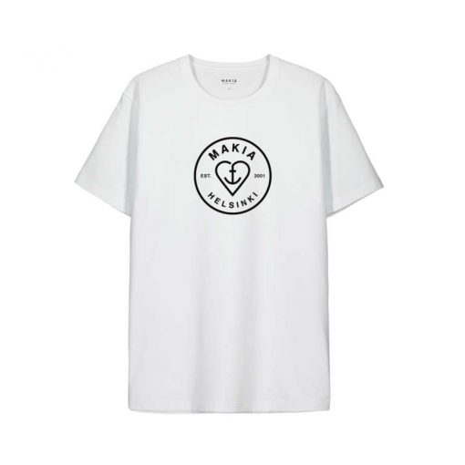 Makia Knot T-shirt White