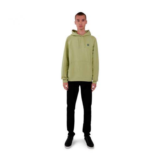 Makia Bolton Hooded Sweatshirt Light Green