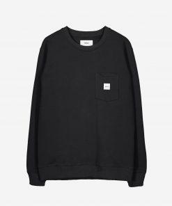 Makia Square Pocket Sweatshirt Black