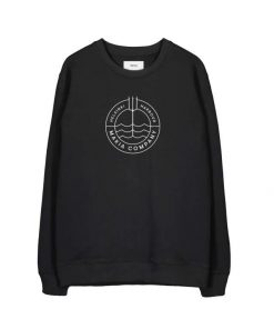 Makia Trident Light Sweatshirt Black