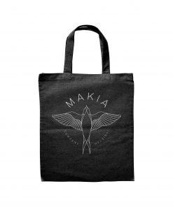 Makia Swallow Tote Bag Black