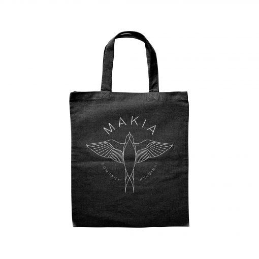 Makia Swallow Tote Bag Black