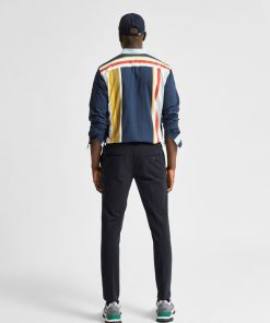 Selected Homme Casual Stretch Jersey Trousers Navy Blazer