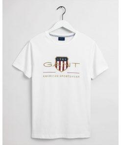 Gant Archive Shield T-shirt White