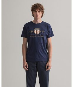 Gant Archive Shield T-shirt Evening Blue
