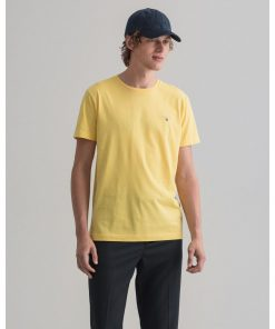 Gant The Orginal T-Shirt Brimestone Yellow