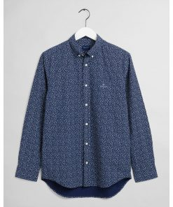 Gant Regular Fit Star Burst Shirt Classic Blue