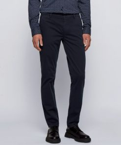 Hugo Boss Schino-Slim D Trousers Dark Blue
