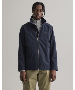 Gant Midlength Jacket Evening Blue