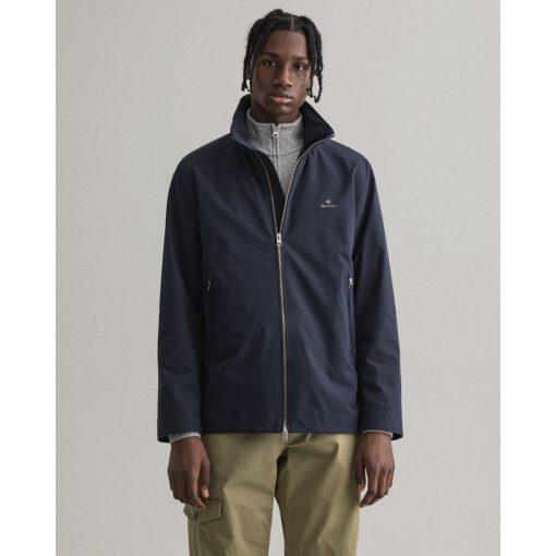 Gant Midlength Jacket Evening Blue