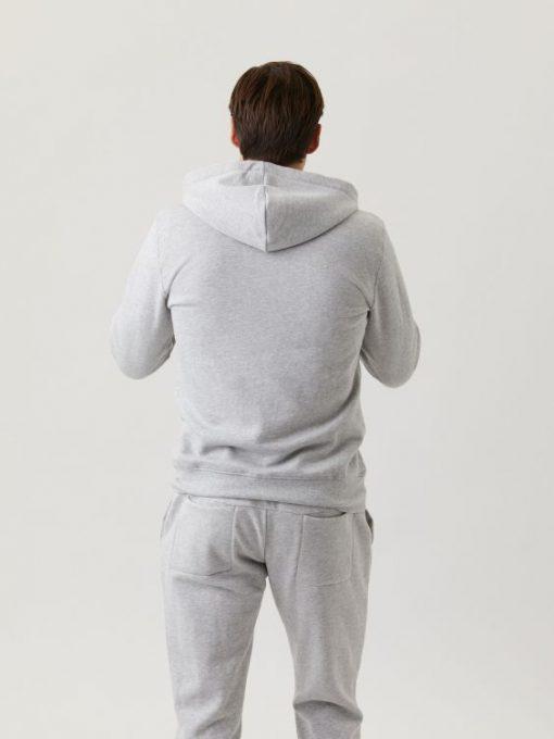 Björn Borg Centre Zip Hood Light Grey Melange