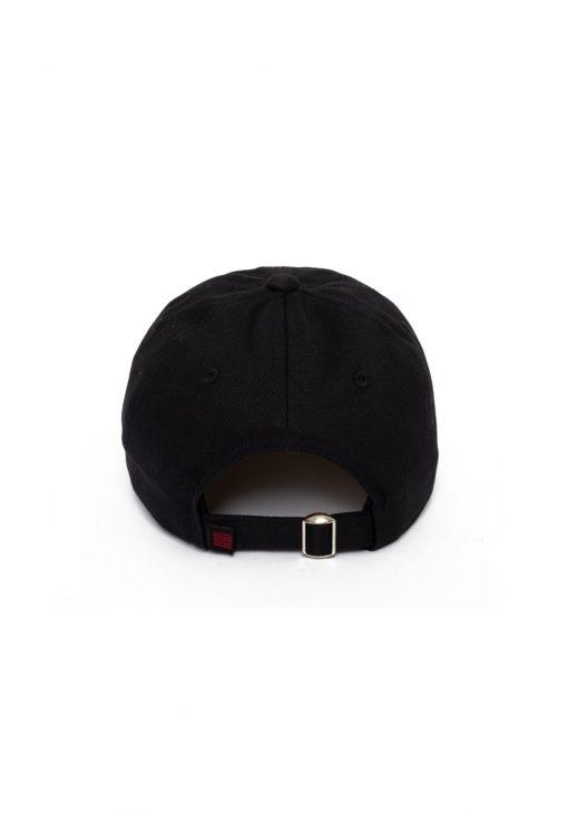 Billebeino Flame Curve Cap Black