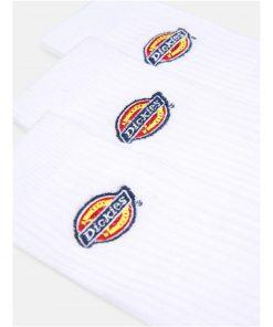 Valley Grove Unisex Logo Socks White