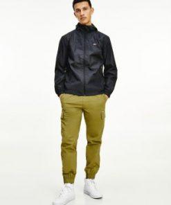 Tommy Jeans Packable Windbreaker Black
