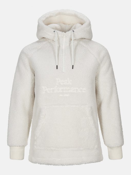 Peak Performance Original Pile Half Zip Men Offwhite