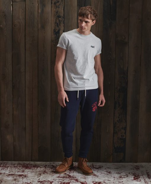 Superdry Vintage Embroidery T-shirt Mcqueen Marl