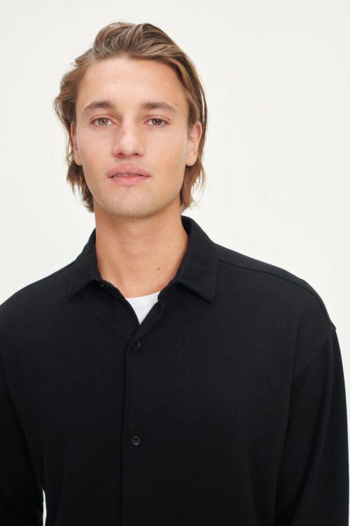 Samsoe & Samsoe Abuta Shirt Black