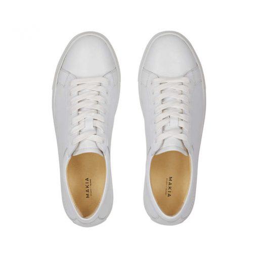 Makia Borough Shoes White