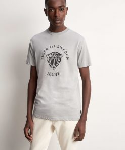 Tiger Jeans Fleek PR T-shirt Wild Dove