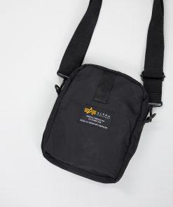 Alpha Industries Crew Carry Bag Black