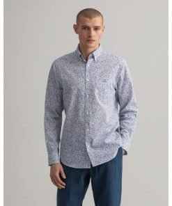 Gant Freedom Flower Shirt Eggshell