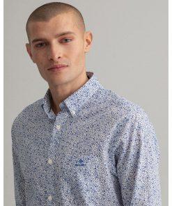 Gant Freedom Flower Shirt Eggshell