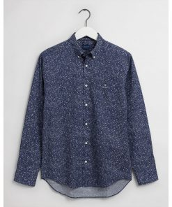 Gant Freedom Flower Shirt Classic Blue
