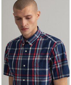 Gant washed Indigo Shirt Persian Blue