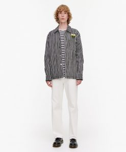 Marimekko Oksilla Piccolo Jacket Black/Natural white