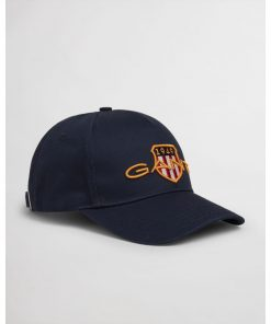 Gant Archive shield Cotton Cap Marine