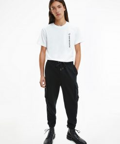 Calvin klein Cargo Badge Joggers Black