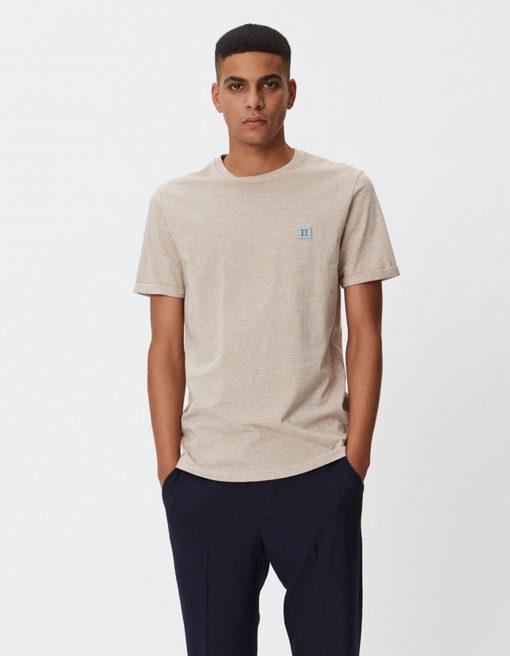 Les Deux Piece T-shirt Light Brown Melange
