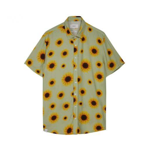 Makia Common SS Shirt Light Green