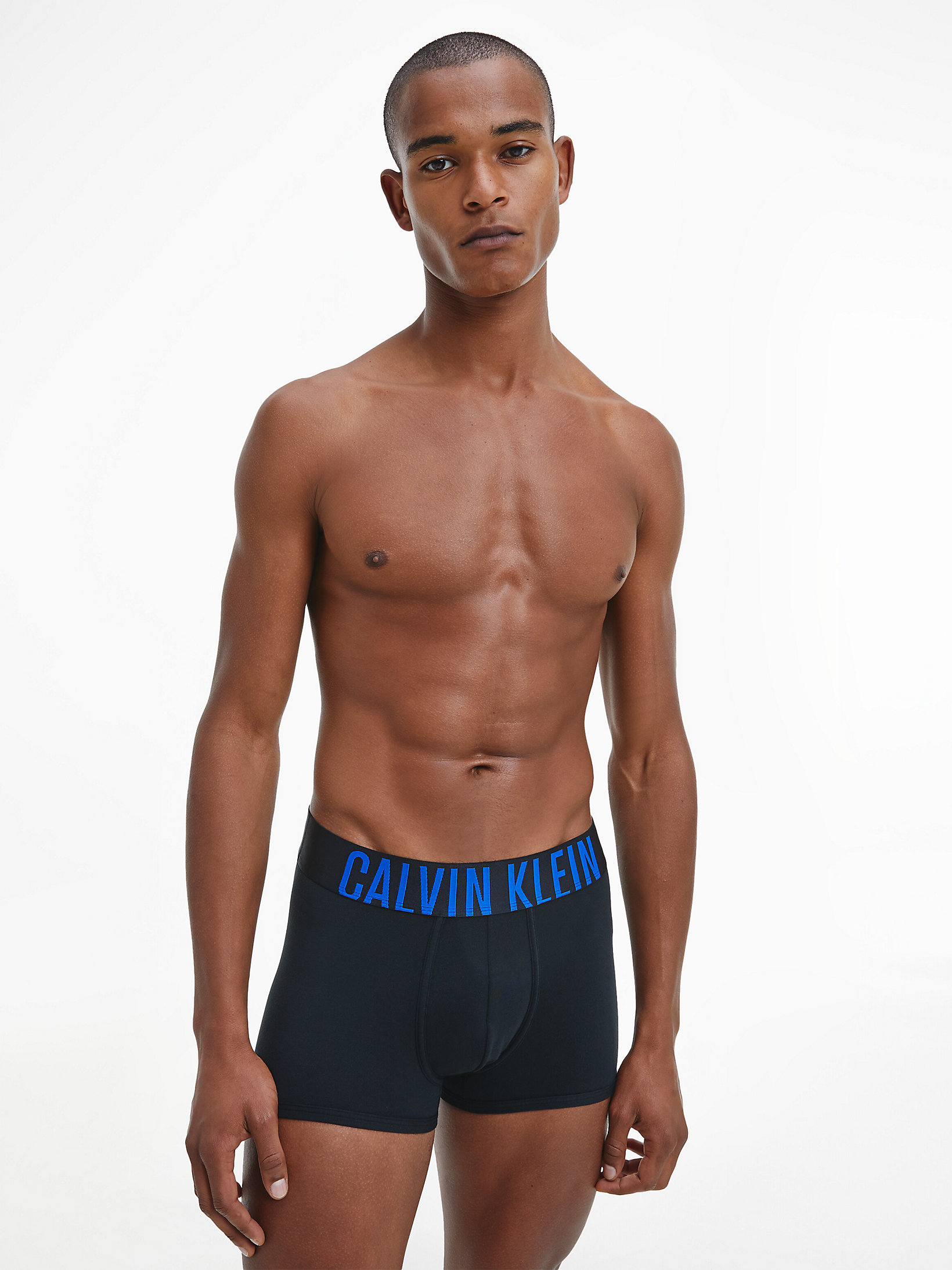 Calvin Klein Intense Power Trunks 2-Pack Black